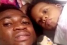 Photo of WATCH: Kotoko winger Emmanuel Gyamfi spends quality time with his baby