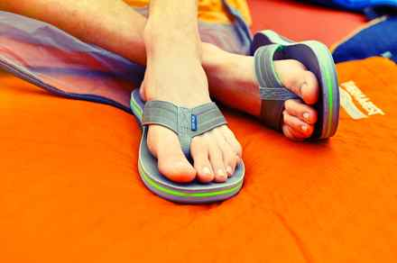 Image result for flip flops and your foot health