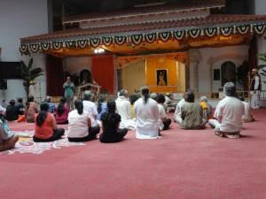 Temple puja ceremony #1