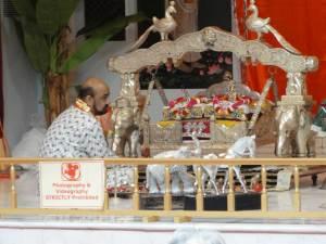 Temple puja ceremony #2