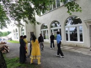 Old satsang room (outside)