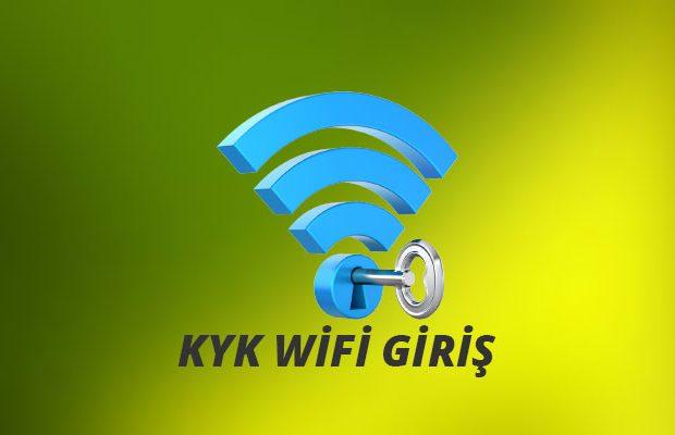 KYK Wifi Giriş Yapma