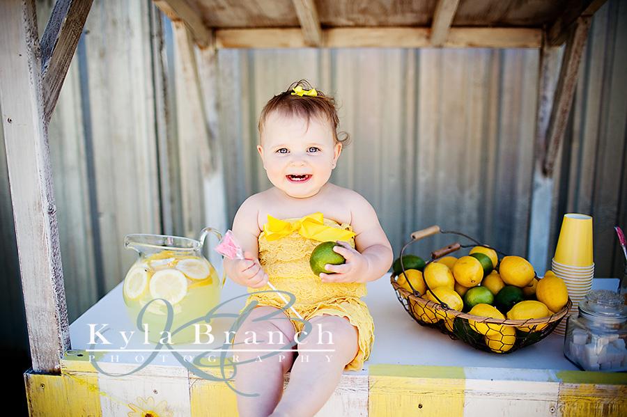 Lemonade Stand Mini Session Day Northeast Louisiana