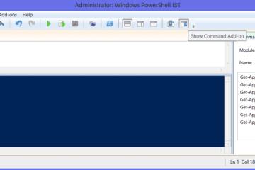 Powershell ISE command window
