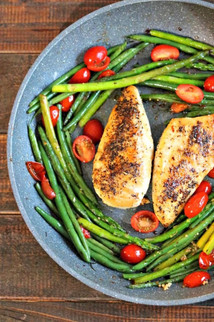 Low Carb Chicken Provencal & Vegetables | Kylee Cooks