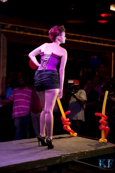 Kinky Kitty fashon show Tampa, Florida
