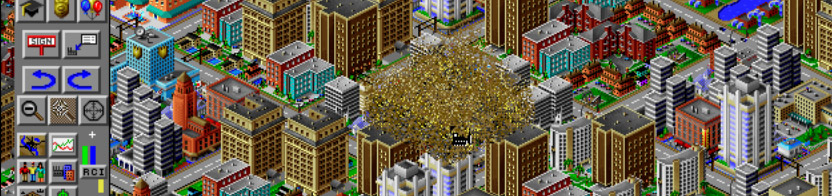 SimCity 2000 Bulldozer