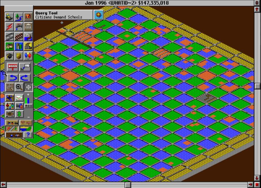 simcity 2000 planning