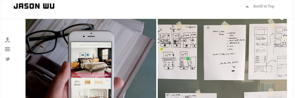 portfolio design process