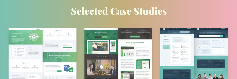 ux design portfolio - selected case studies