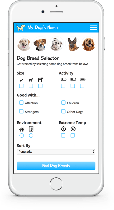 my dogs name breed search