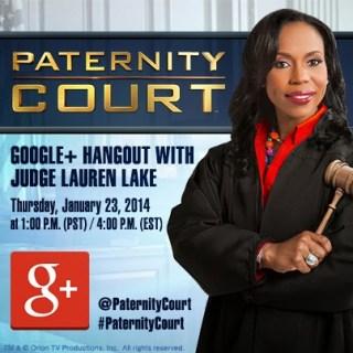 Kyle McMahon / KMac / K.Mac joins Paternity Court judge Lauren Lake