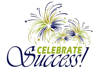 celebrate every success towards your New Year's resolution