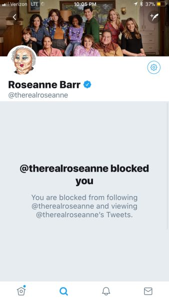 roseanne blocked me on twitter for asking about her alt right tweets - kyle mcmahon