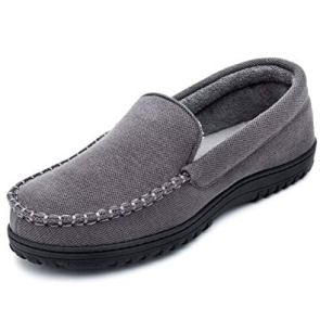 Cozy Niche Men's Moccasin Slippers are one of the best gifts for him this year