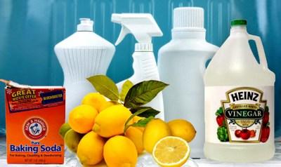 DIY All natural all purpose cleaner recipe using essential oils