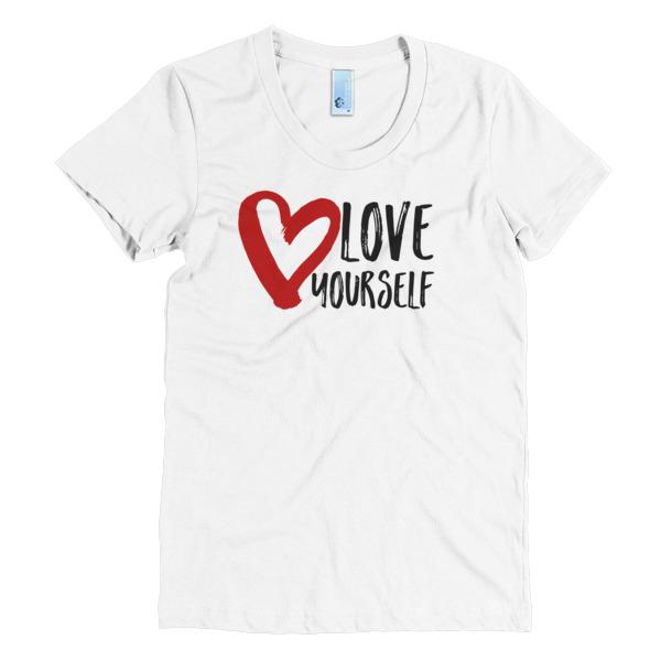 Love Yourself Short Sleeve Unisex T Shirt Kyle Mcmahon