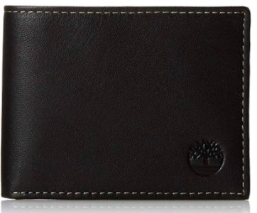 This Timberland Blix Slimfold Leather wallet is fashionable and functional...and one of the perfect gifts for him.