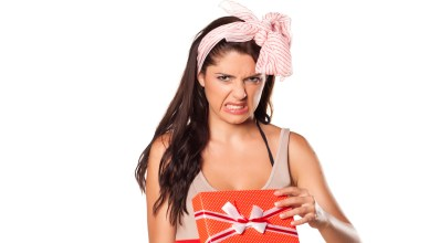 here's what to do and how to handle receiving a gift you don't like.