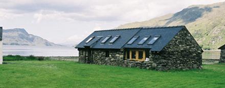 The bothy accommodation, Knoydart