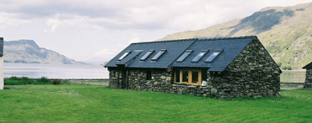 The bothy accommodation, Knoydart