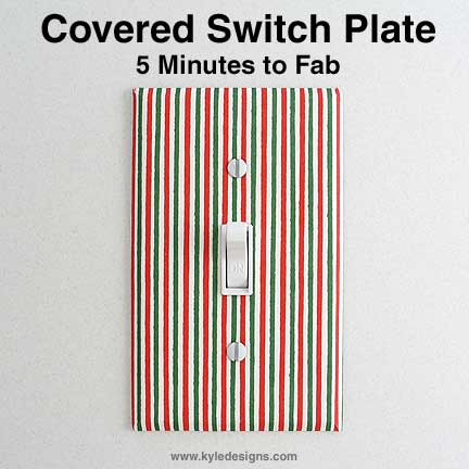 DIY or shop creative switch plates at Kyle Design