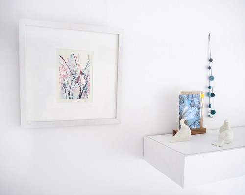 Birds and Blossoms by Kylie Fogarty at Gallery of Small Things Canberra