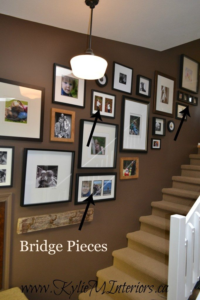 Best 25 Stairway Wall Decorating Ideas On Pinterest: How To Make A Photo Display Or Gallery In Stairway : Ideas