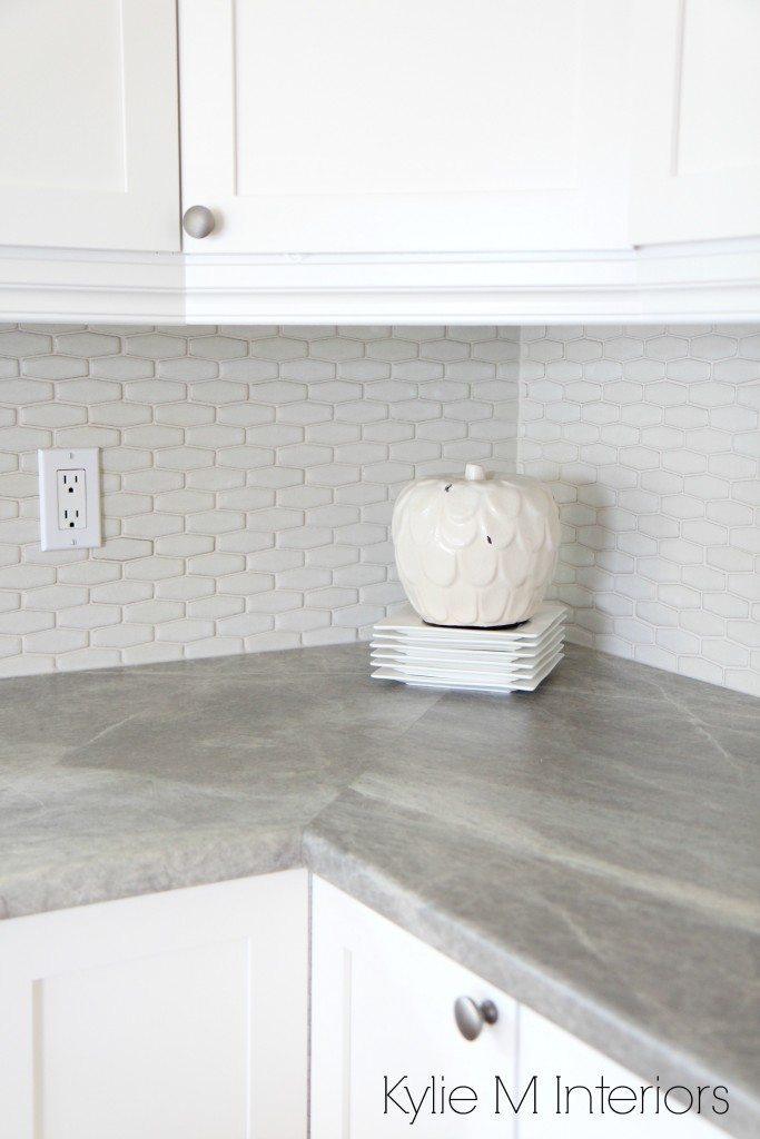 Hexagon Shape Subway Tile Backsplash Soapstone Sequoia