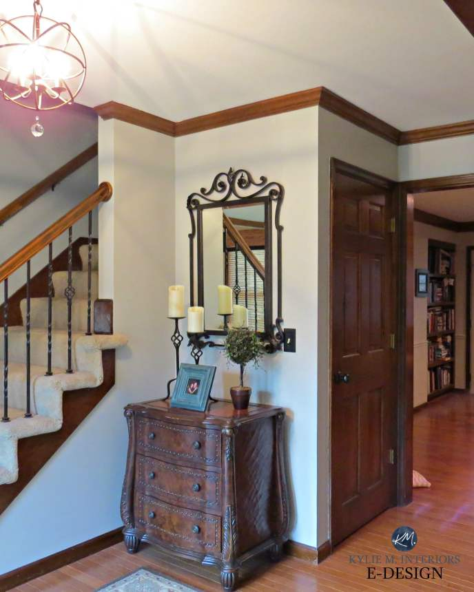 Interior Paint Colors That Go With Dark Wood Trim
