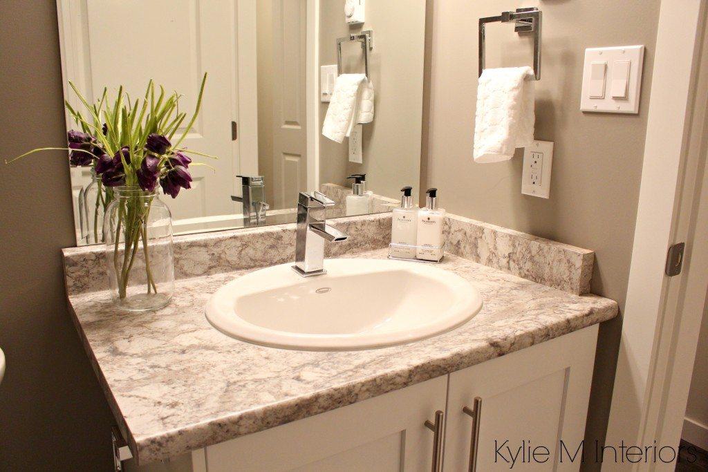 White Laminate Kitchen Countertops