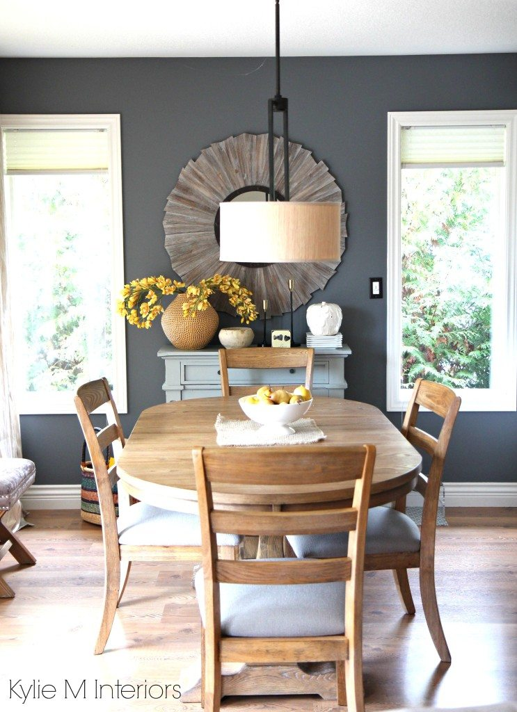 Modern Family Friendly Country Farmhouse Style Dining Room