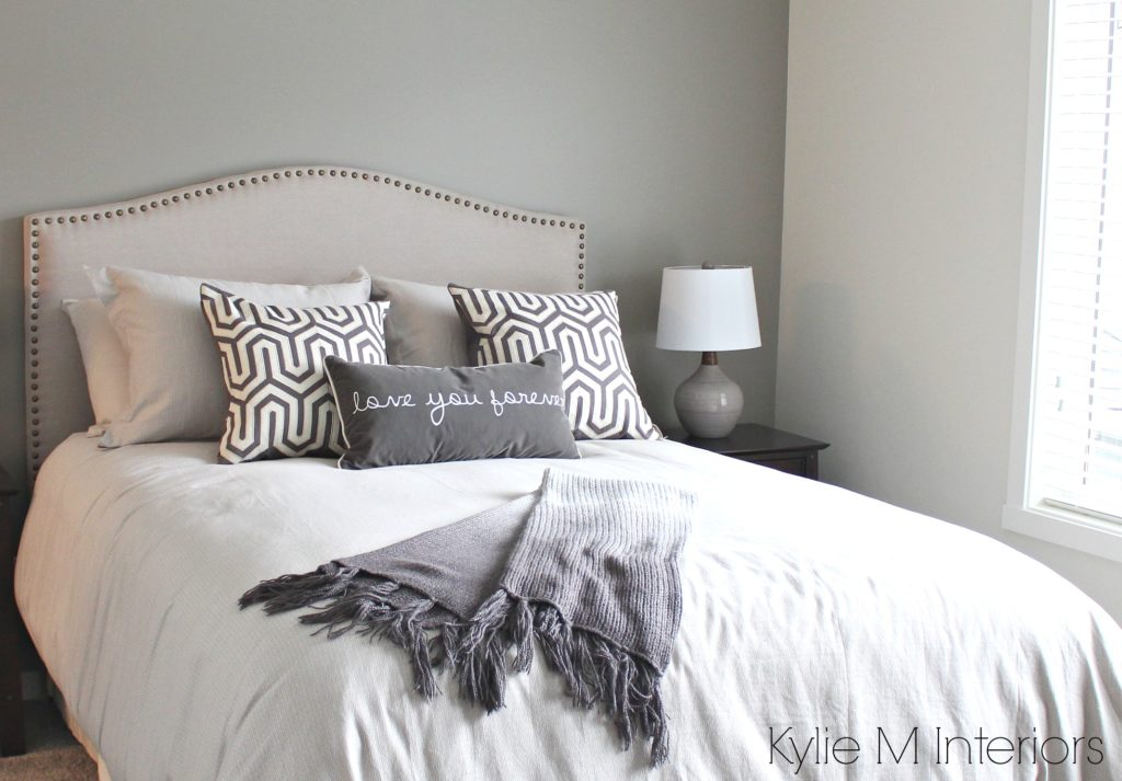 Bedroom With South West Exposure Painted In Gray To
