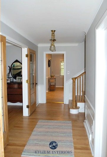 Sherwin Williams Big Chill In Entryway And Hallway With