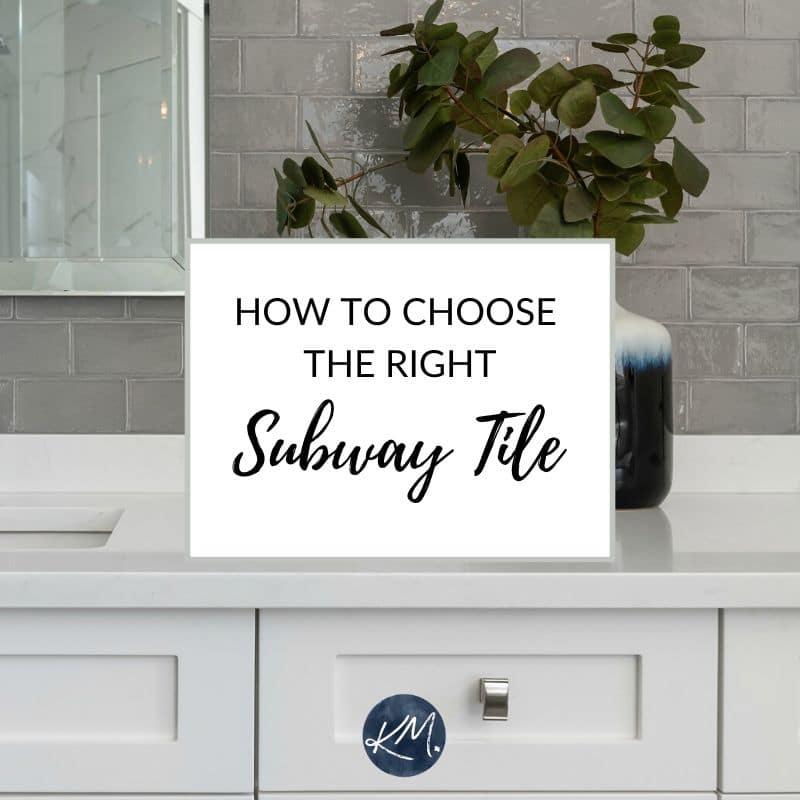 4 Subway Tile Ideas For Your Kitchen Backsplash Bathroom Kylie M Interiors