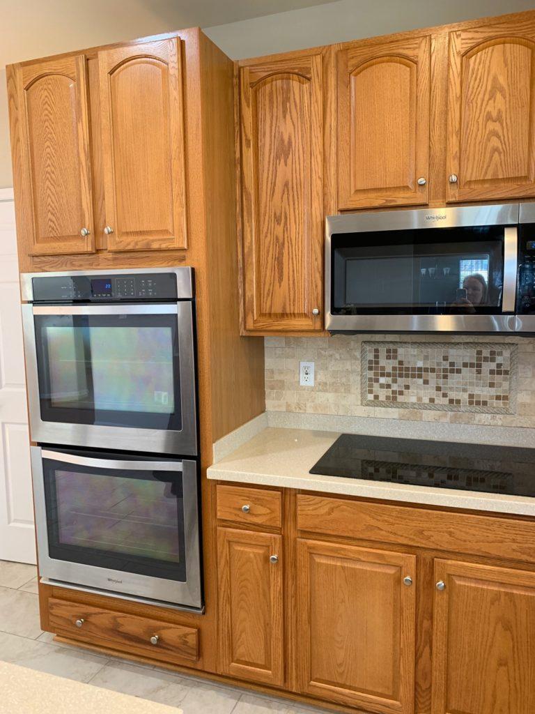 E Design 3 Painted Oak Maple Kitchen Cabinet Projects