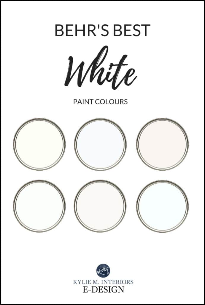 The Best Behr White And Soft Off White Paint Colours