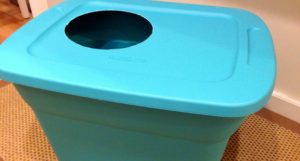 DIY Enclosed Cat Litter Tray/Box