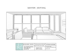 Kylie T Interiors Furniture Plan
