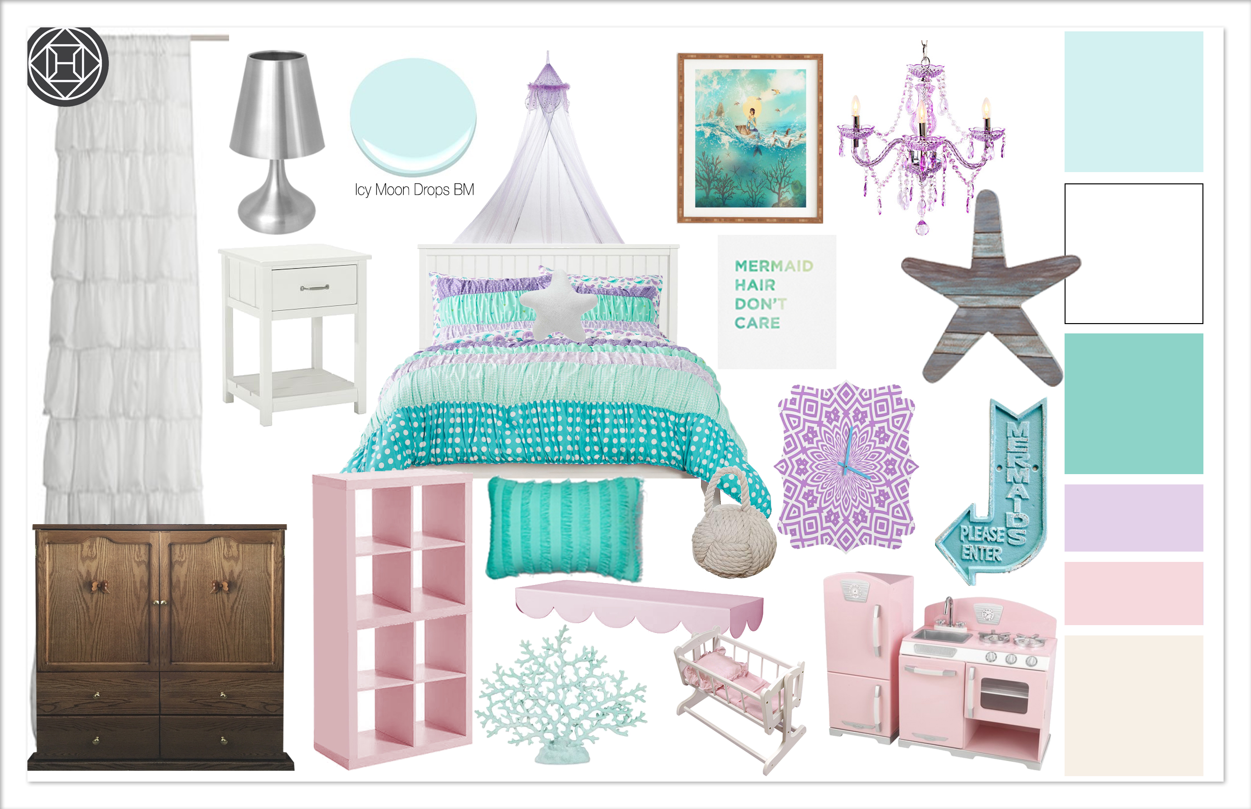 Girls Bedroom 2, C2 Kylie t interiors