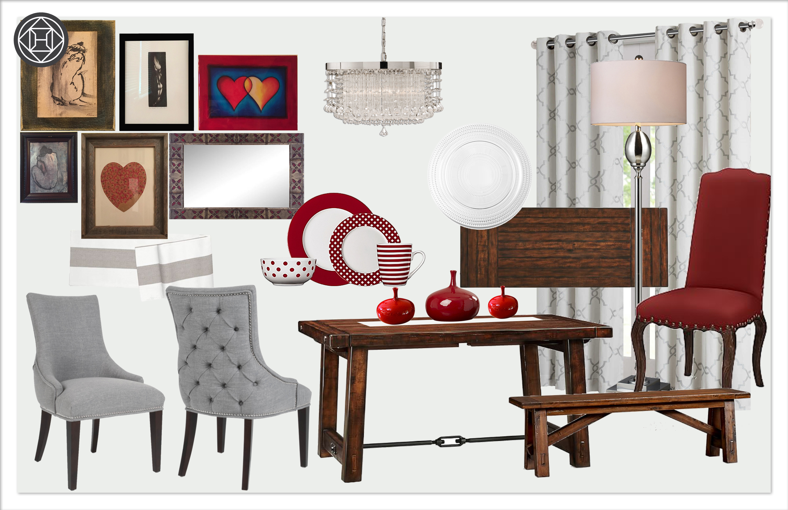 Dining Room 1 kylie T interiors