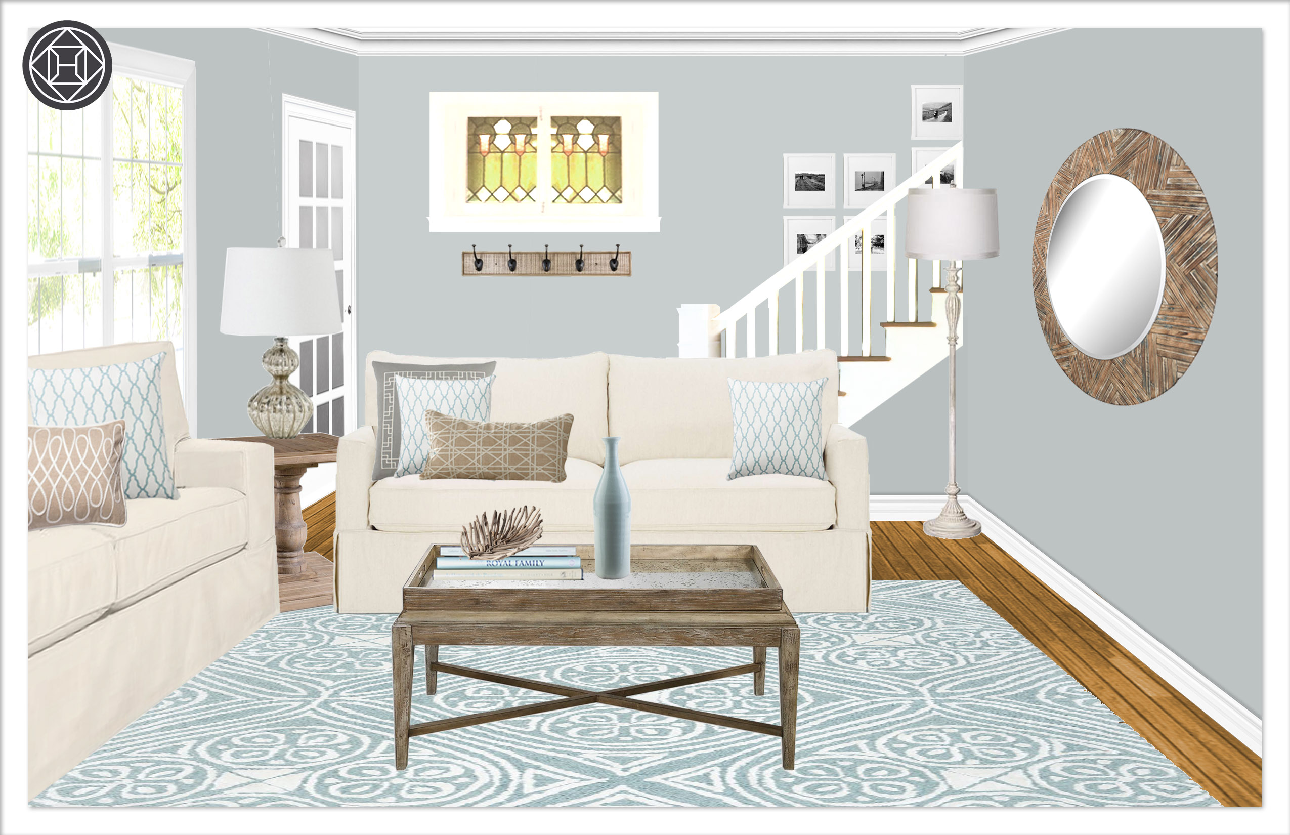 Living room 10, Layout 2.3 Kylie T interiors