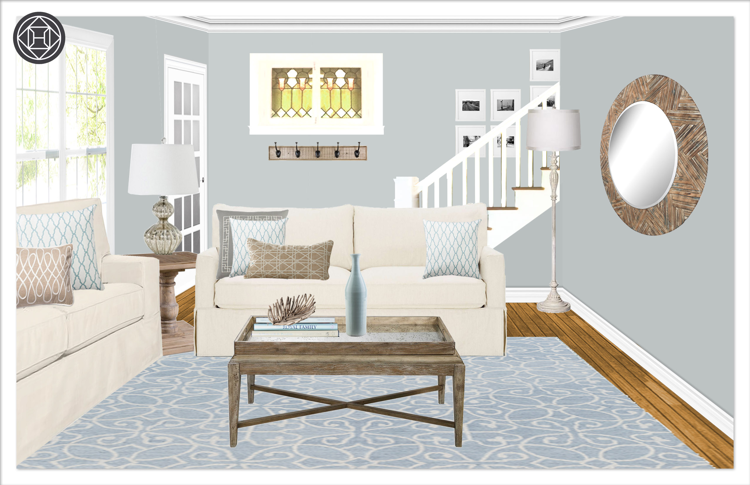 Living room 10, Layout 2.2 Kylie T interiors