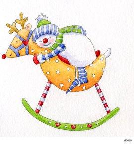 Lollystick Snowpeople - d5659