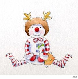Lollystick Snowpeople - d5660