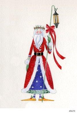Lollystick Santa - d5670