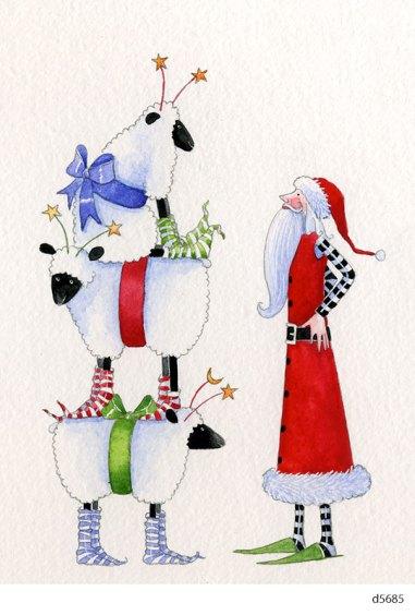 Lollystick Santa - d5685