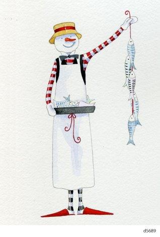 Lollystick Snowpeople - d5689