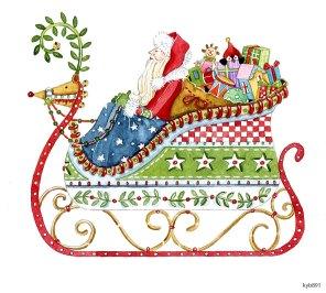 Lollystick Santa - kyb891