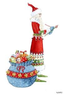 Lollystick Santa - kyb892